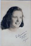 Aunt Regina, HS 1947